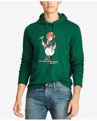 Polo Ralph Lauren - Polo Bear Hooded T-shirt - Lyst