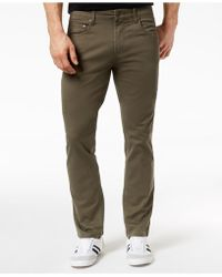 INC International Concepts - Stretch Twill Pants, Created For Macy's - Lyst