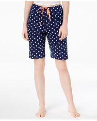 Hue - ® Printed Bermuda Pyjama Shorts - Lyst