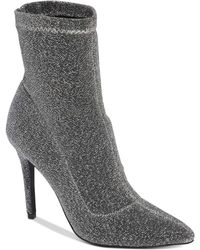 Charles David - Puzzle Stretch Glitter Booties - Lyst