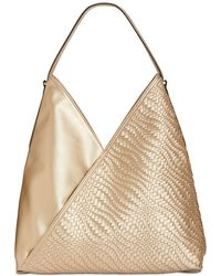 INC International Concepts - Blakke Woven Large Hobo - Lyst
