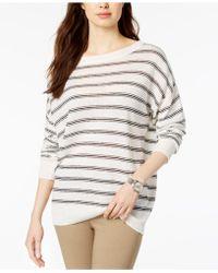 Lacoste - Striped Sweater - Lyst