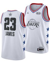 e3488e867 Lyst - Nike Lebron James All-star Edition Swingman Jersey in Black ...