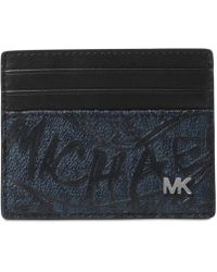 Michael Kors - Jet Set Printed Card Case - Lyst