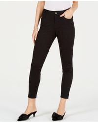 Maison Jules - Flocked Ankle Skinny Pants, Created For Macy's - Lyst