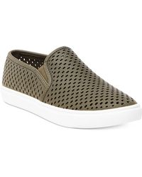 Steve Madden - Women's Elouise Perforated Slide-on Trainers - Lyst