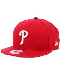 promo code 31db0 999d4 KTZ - Philadelphia Phillies Mlb 2 Tone Link 9fifty Snapback Cap - Lyst