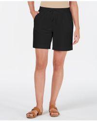 Karen Scott - Knit Drawstring Shorts, Created For Macy's - Lyst
