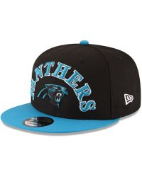 low priced aa3f3 8ac7e KTZ Carolina Panthers Nfl Draft 9fifty Snapback Cap in Blue for Men - Lyst