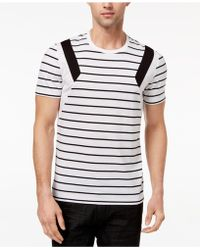 INC International Concepts - Striped T-shirt, Created For Macy's - Lyst