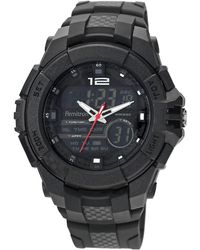 Armitron - Men's Analog-digital Chronograph Black Resin Bracelet Watch 53mm 20-4942blk - Lyst