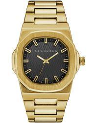 Sean John - Men's Lisbon Gold-tone Bracelet Watch 42mm - Lyst