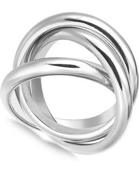 Alfani - Silver-tone 3-pc. Set Stackable Rings, Created For Macy's - Lyst