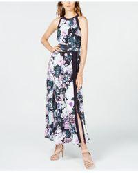 INC International Concepts - I.n.c. Printed Varsity-stripe Maxi Dress, Created For Macy's - Lyst