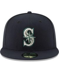 sports shoes af7f9 bf3a3 KTZ Seattle Mariners Camo Pop 59Fifty Cap in Green for Men - Lyst