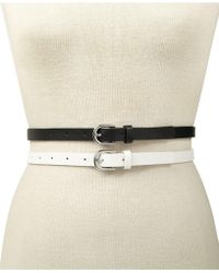 INC International Concepts - I.n.c. 2-for-1 Solid Belts, Created For Macy's - Lyst