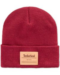 Timberland - Heat Retention Watch-cap Beanie, Created For Macy's - Lyst