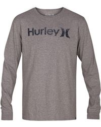 Hurley - One And Only Long-sleeve T-shirt - Lyst