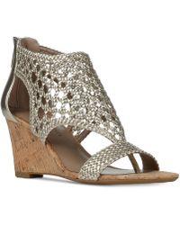 Donald J Pliner | Donald J Pliner Jolie Wedge Sandals | Lyst