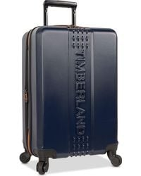 """Timberland - Groveton 20"""" Carry-on Hardside Spinner Suitcase - Lyst"""