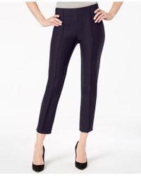 Love Scarlett - Petite Front-seam Ankle Pants - Lyst