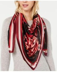 Vince Camuto - Hanabi Floral Oversized Square Scarf - Lyst