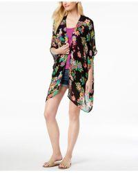 INC International Concepts - I.n.c. Tropical-print Crochet Kimono & Cover-up, Created For Macy's - Lyst