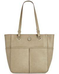 Giani Bernini - Pebble Leather Tote, Created For Macy's - Lyst
