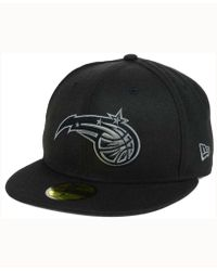 cheap for discount 48af2 67fc0 KTZ Orlando Magic City Series 39thirty Cap in Black for Men - Lyst