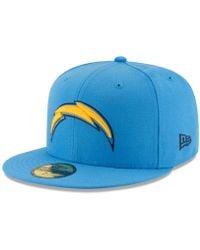 293b3ed773c Lyst - Ktz Nfl San Diego Chargers Heathered Twill Football Cap in ...