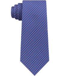 Michael Kors - Classic Chevron-stripe Silk Tie - Lyst
