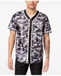 INC International Concepts - Printed Baseball Jersey, Created For Macy's - Lyst