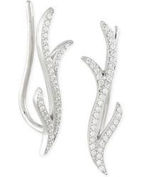 Macy's - Diamond Ear Crawlers (1/6 Ct. T.w.) In 14k White Gold - Lyst