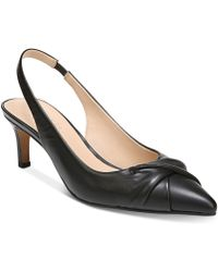 Franco Sarto - Dianora Slingback Pointed-toe Court Shoes - Lyst