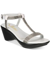 b27203e8cbcd Callisto - Kataya Platform Wedge Sandals