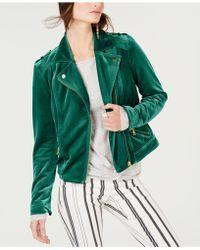 INC International Concepts - I.n.c. Velvet Moto Jacket, Created For Macy's - Lyst