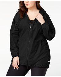 Calvin Klein - Performance Plus Size Hooded Walker Jacket - Lyst