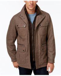 Michael Kors - Men's Field Coat With Attached Bib - Lyst
