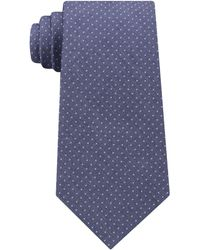 Michael Kors | Men's Pin Dot Melange Silk Tie | Lyst