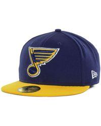 KTZ - St. Louis Blues Basic 59fifty Cap - Lyst