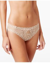 Natori - Feathers Low-rise Sheer Hipster 753023 - Lyst