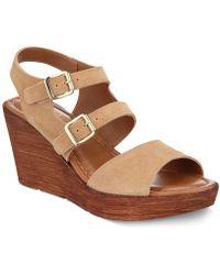 Bella Vita - Ani-italy Wedge Sandals - Lyst