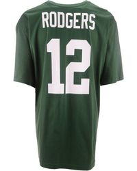 new arrival 1a41f 3e9be Lyst - Nike Men's Aaron Rodgers Green Bay Packers Salute To ...