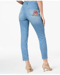 Style & Co. - Tummy Control Curvy-fit Skinny Jeans, Created For Macy's - Lyst