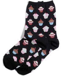 Hot Sox - Printed Trouser Socks - Lyst