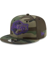 detailed look d95e9 28837 KTZ Kids Kobe Bryant Los Angeles Lakers Player 9fifty Snapback Cap in  Purple for Men - Lyst