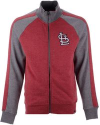 47 Brand - St. Louis Cardinals Match Track Jacket - Lyst 17fa3acc0