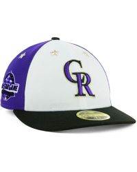 online retailer e4804 7d4db KTZ - Colorado Rockies All Star Game Patch Low Profile 59fifty Fitted Cap  2018 - Lyst