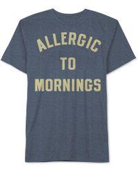 Jem - Men's Allergic To Mornings Graphic-print T-shirt - Lyst