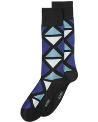 Alfani - Geometric-print Socks, Created For Macy's - Lyst